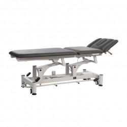 Camilla de altas prestaciones y 3 secciones especialmente indicada para tratamientos de fisioterapia